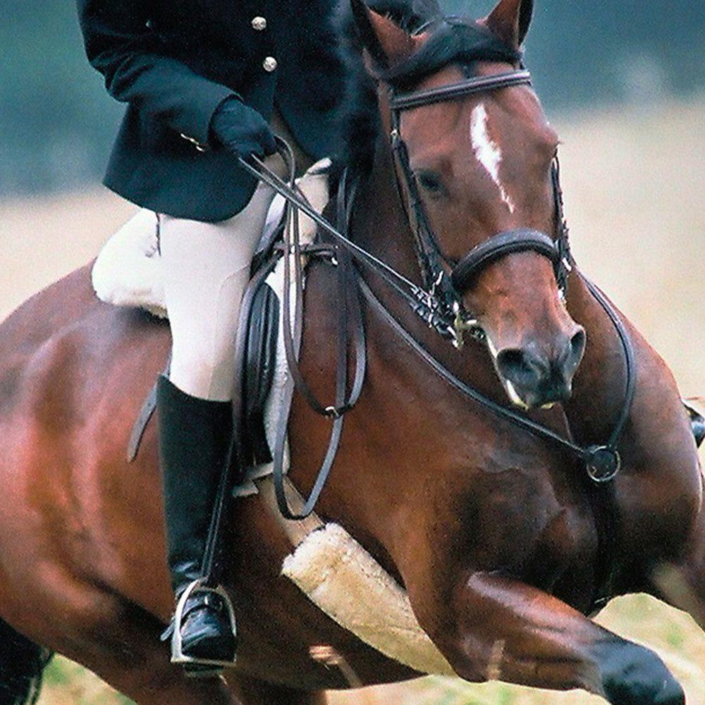 Sheepskin Horse Tack