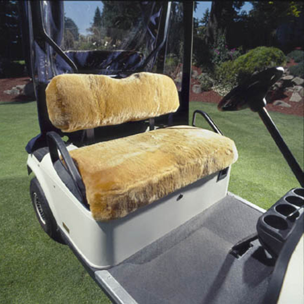 Sheepskin Golf Cart Seat Covers