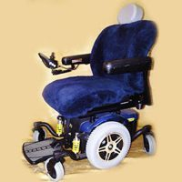 Sheepskin Power Wheel Chair Cover