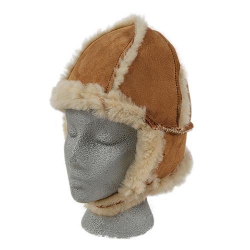 Child's Aviator Sheepskin Hat