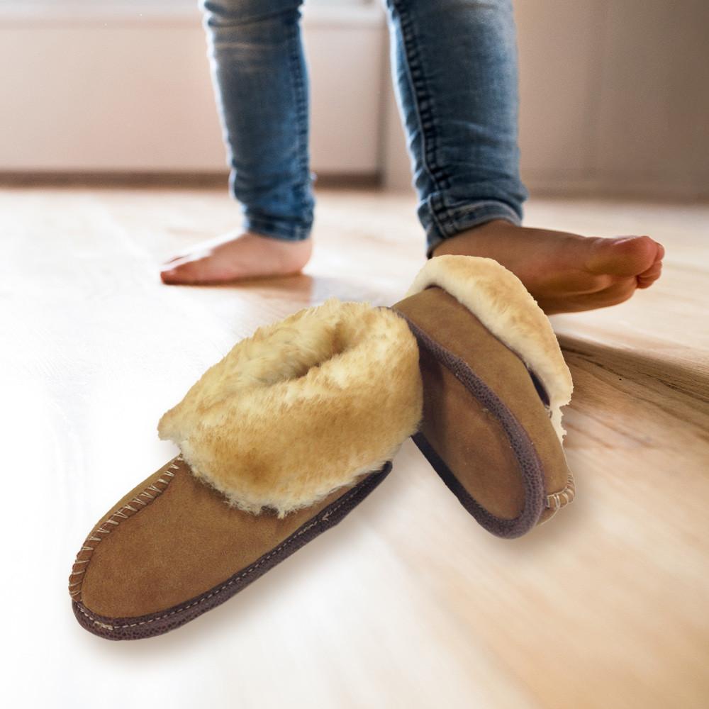 Child's Premium Sheepskin Slippers