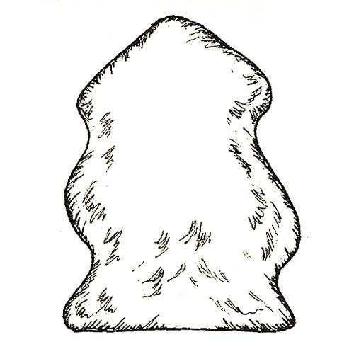 Single Pelt Rug