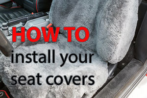 How to install your seat covers