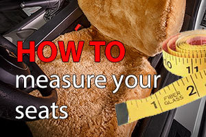 How to measure your seats