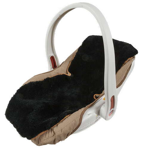 Sheepskin Infant seat cover