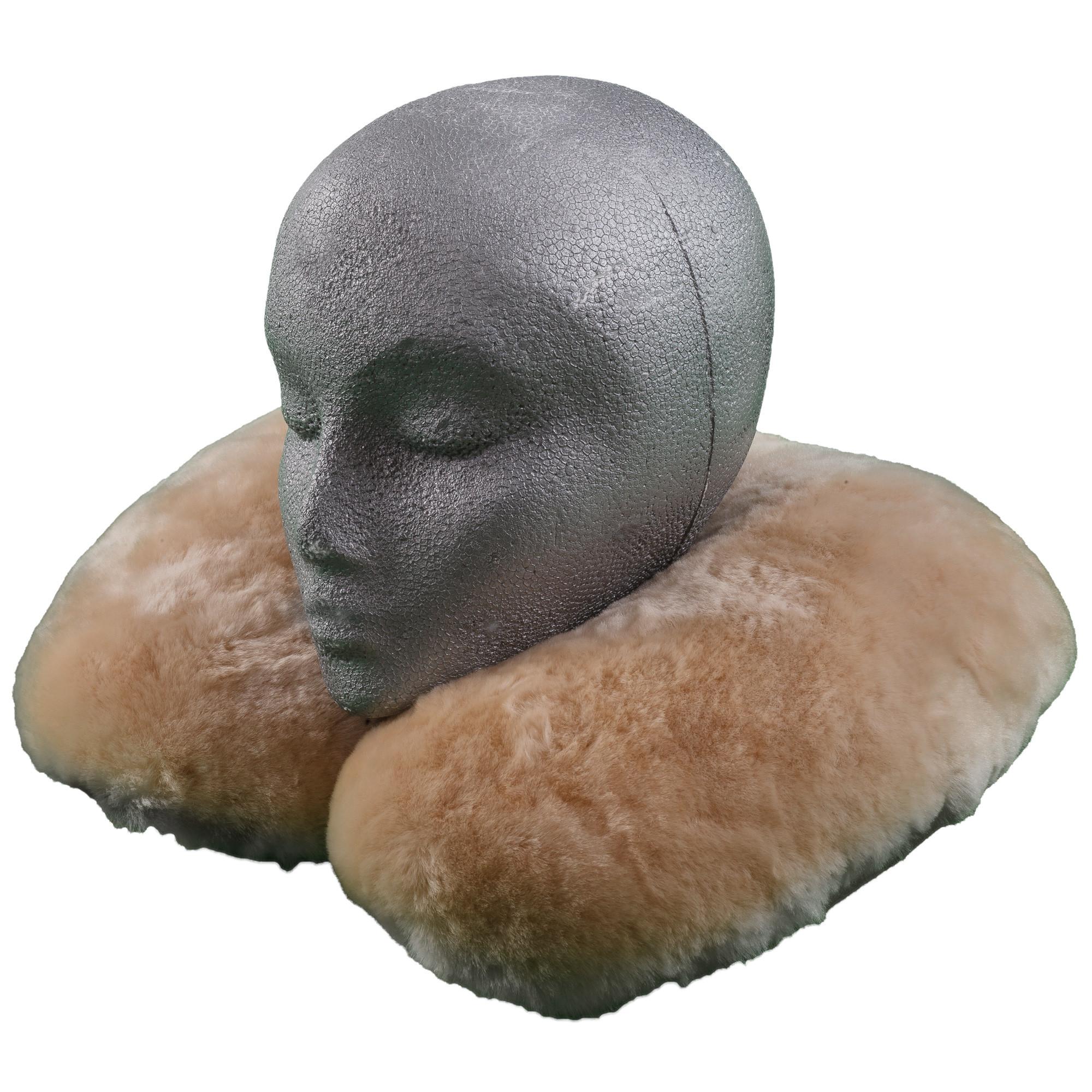 Sheepskin Baby Travel Pillow