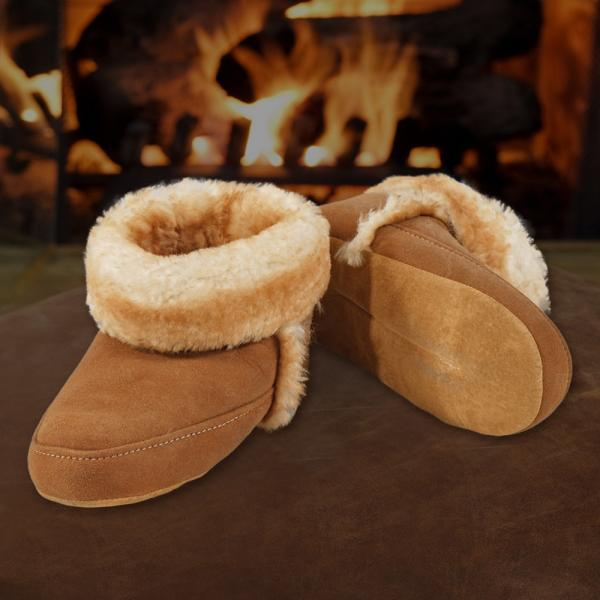 Sheepskin Cabin Slippers