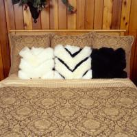 Sheepskin Chevron Pillows