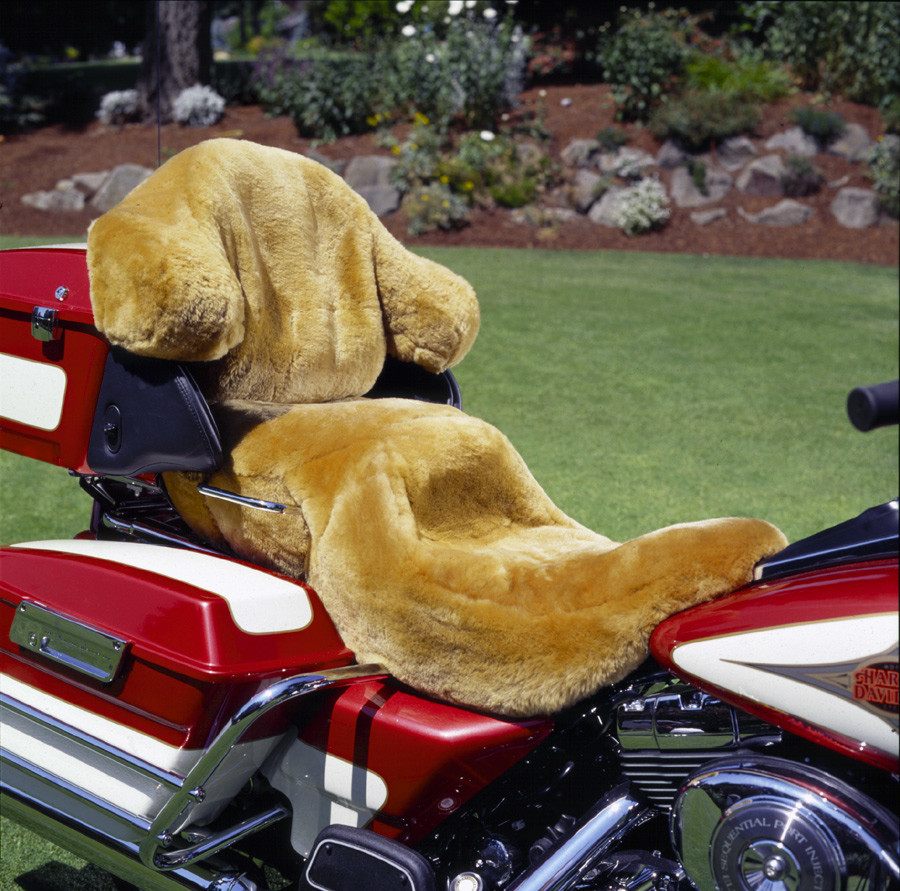 Sheepskin Motorcycle Seat Covers