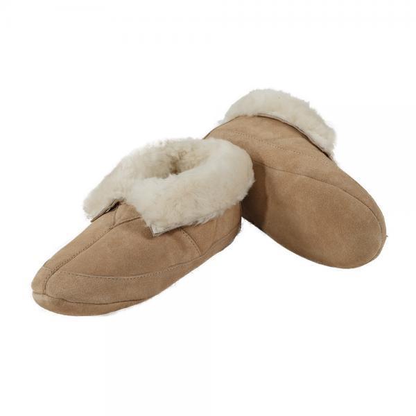 Sheepskin Soft Sole Slippers