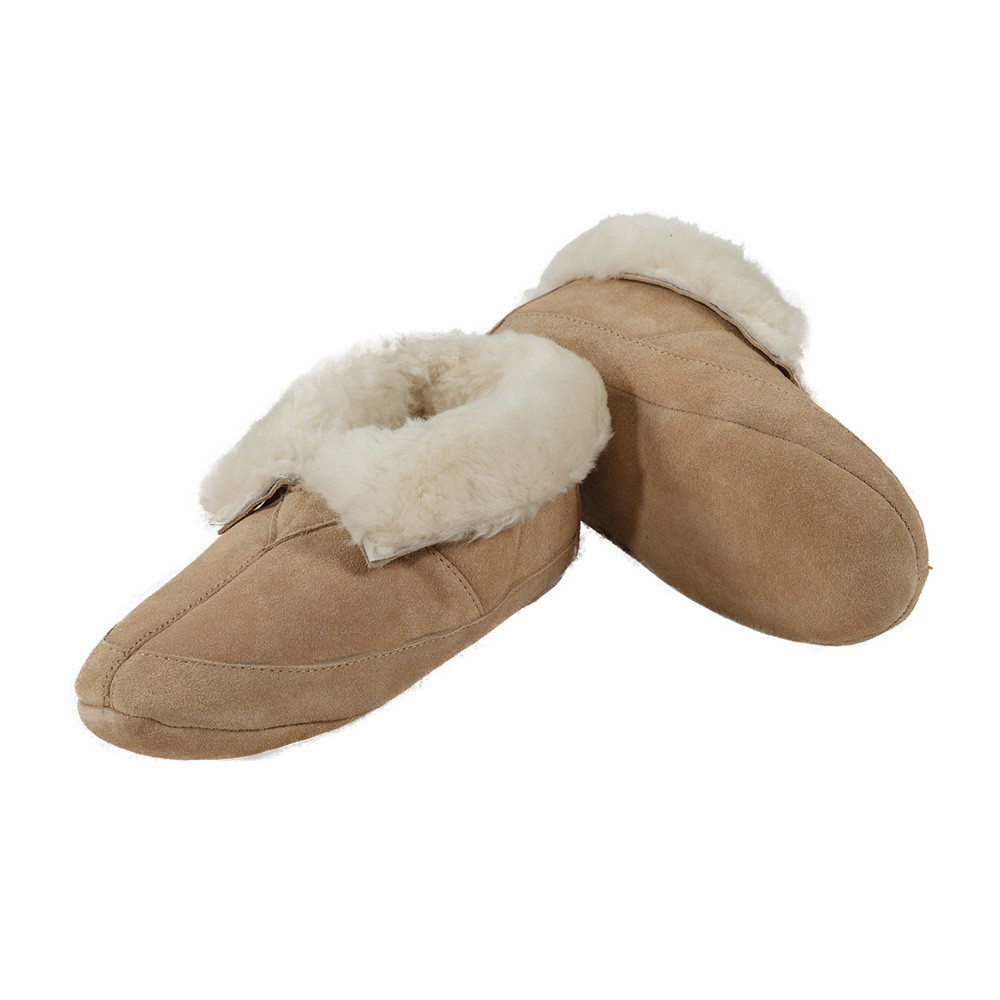 Sheepskin Soft Sole Slippers