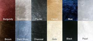 Short Wool Sheepskin Colors