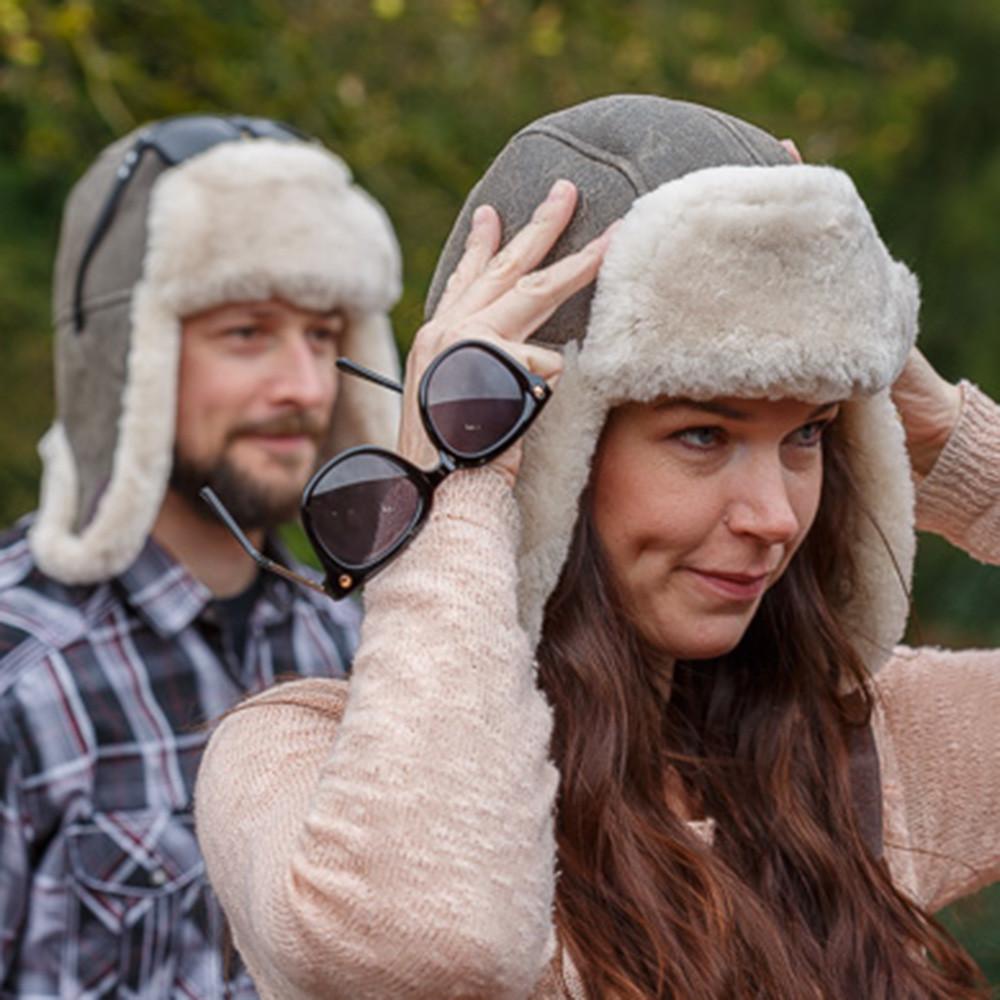 Sheepskin Trouper Hats