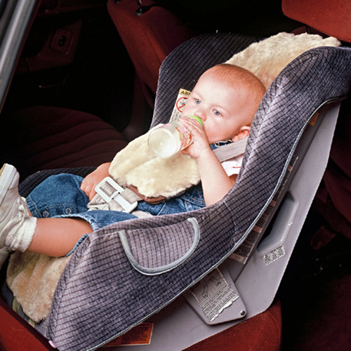 Infant Sheepskin Car Seat Cover