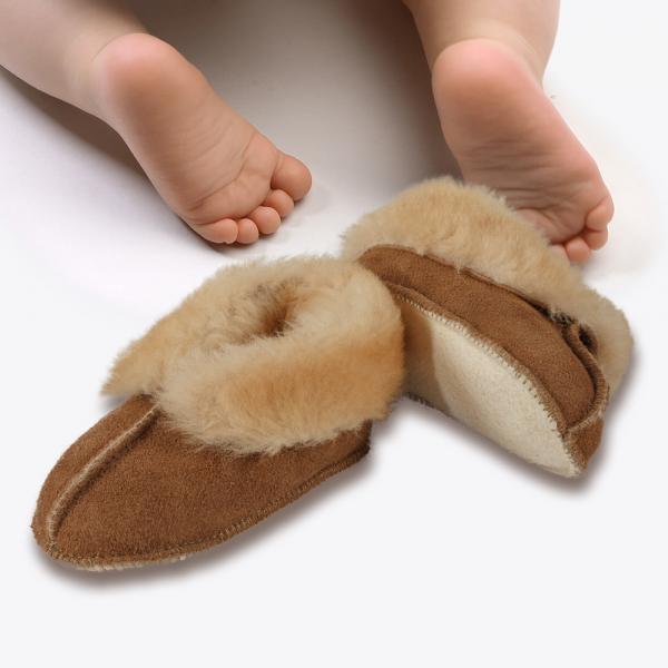 Sheepskin Baby Bootie