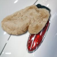 Sheepskin Wash and Polish Mitt