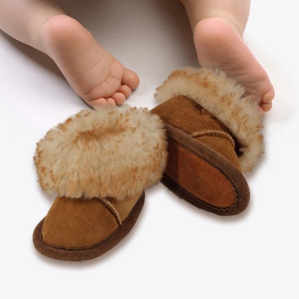 Premium Sheepskin Baby Booties