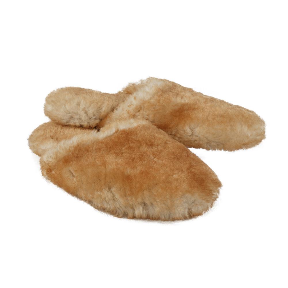 Sheepskin Fuzzy Scruff Slippers