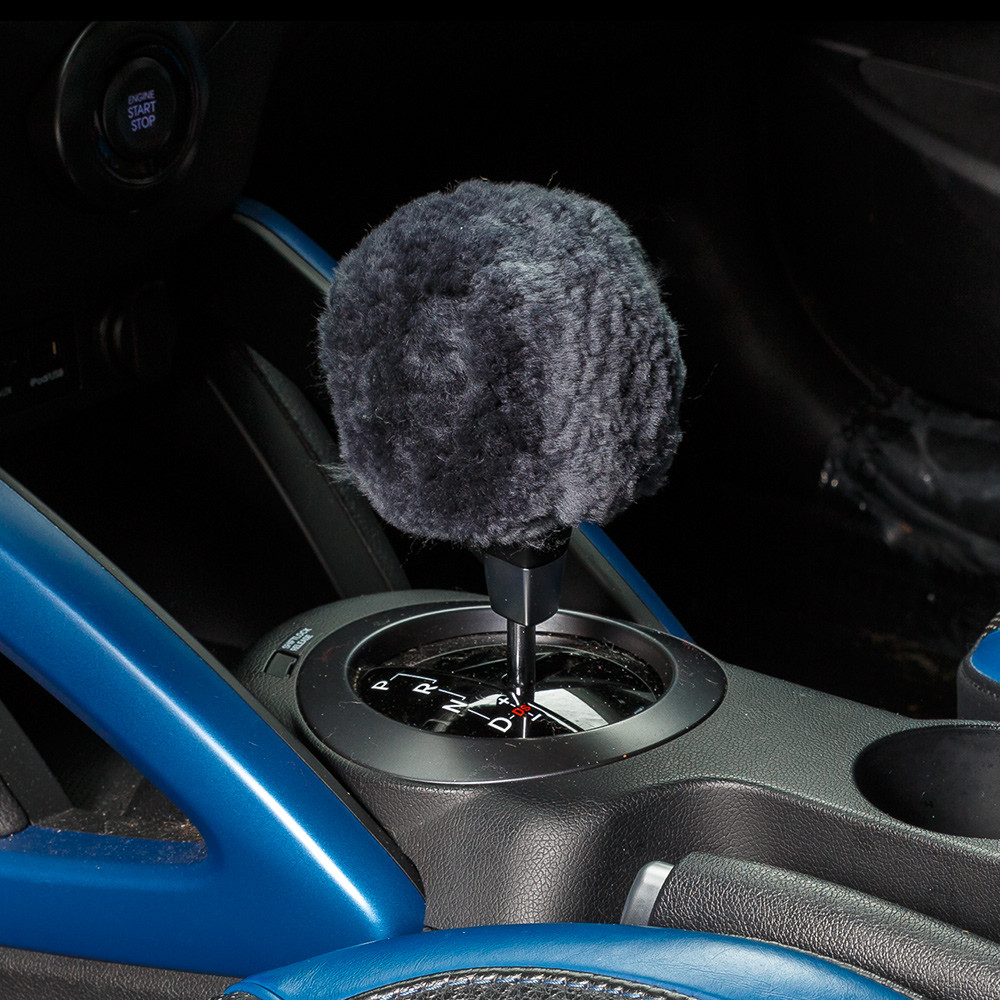Sheepskin Gear Shift Knob Cover