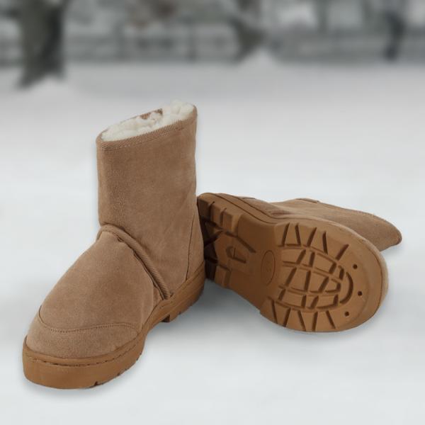 Sheepskin Mid-Rise Boots