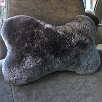 Sheepskin Neck Pillow