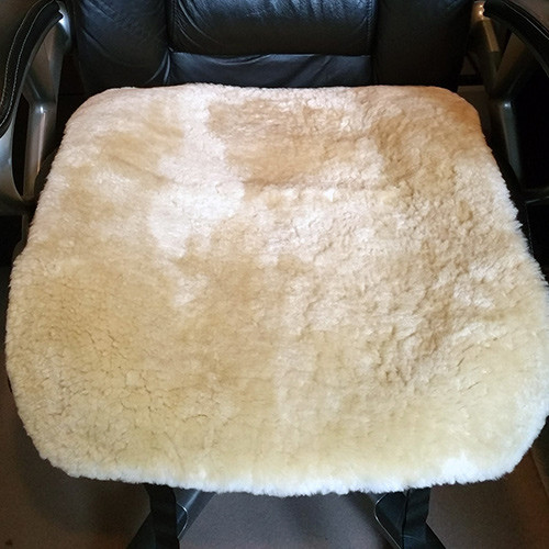 Sheepskin Pad for Office Chair