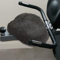 Sheepskin Exercise Bicycle Seat Cover