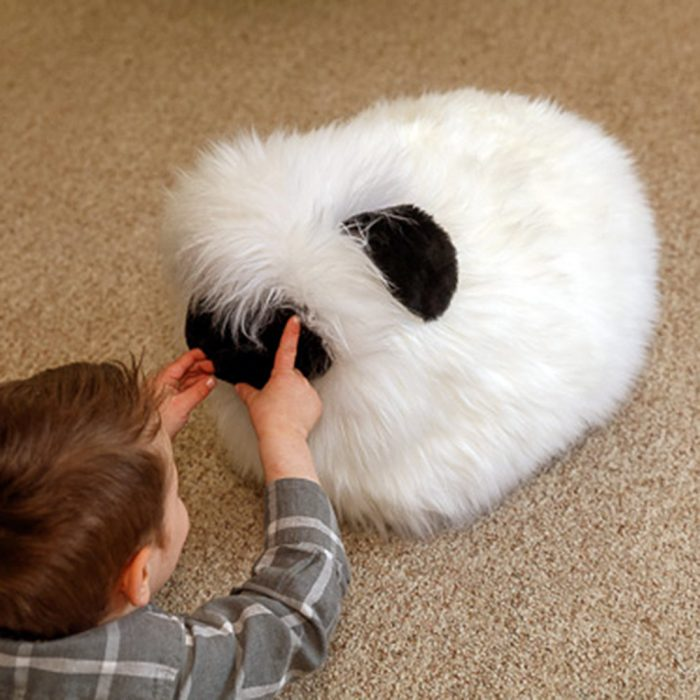 Sheepskin Stuffed Sheep