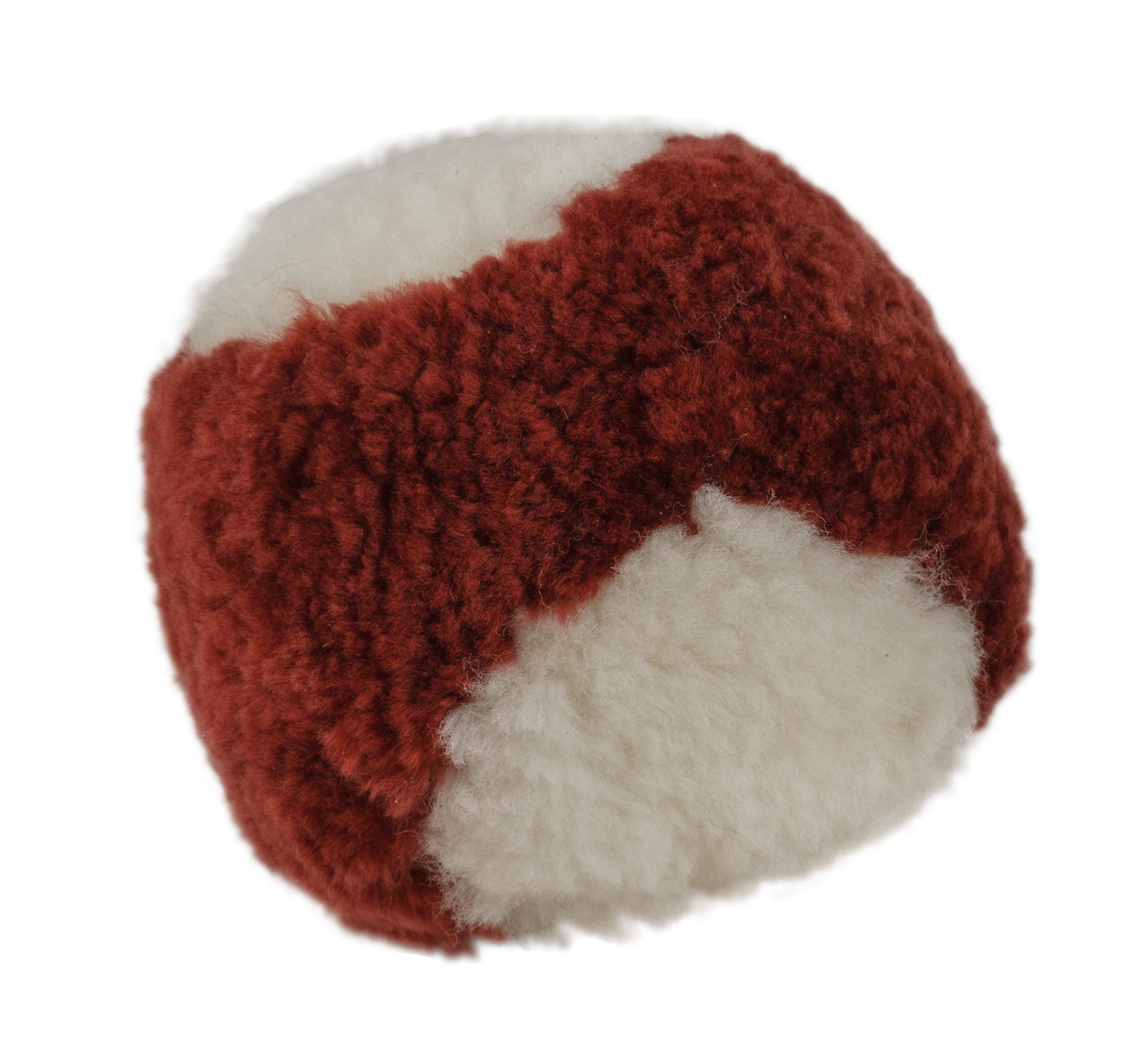 Sheepskin Stuffed Baseball