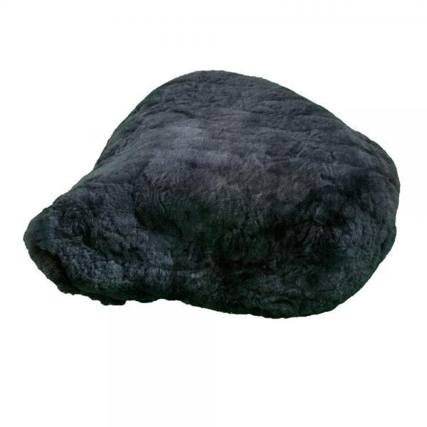 Universal-Sheepskin Exercise Bicycle Seat Cover