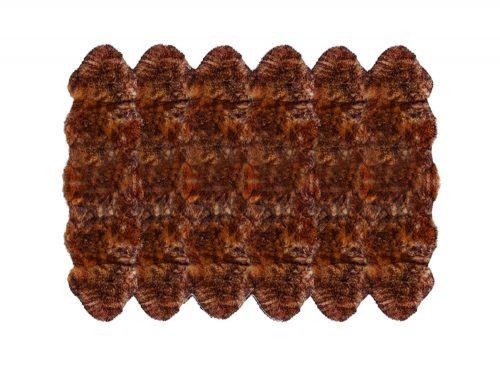 12 pelt sheepskin rug