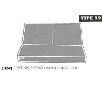 type 19 bench seat