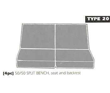 type 20 bench seat