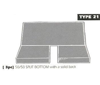 type 21 bench seat