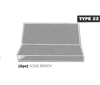 type 22 bench seat