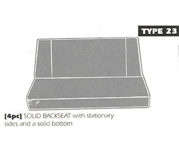 type 23 bench seat