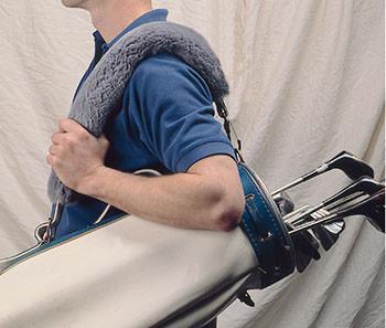 Golf Bag Strap Cover Contoured