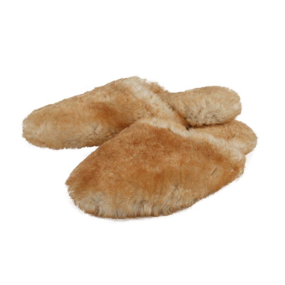 Sheepskin Slippers Scuff Softsole