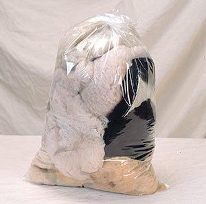 Bag of Sheepskin Scrap