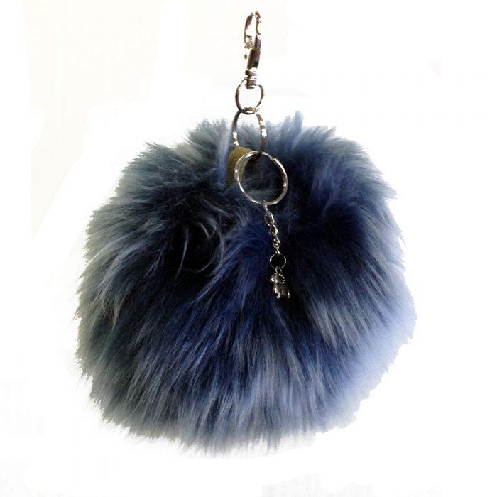 Puff Ball Key Chain